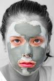 Het masker van de schoonheid Stock Foto