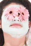 Het masker van de schoonheid Stock Afbeeldingen