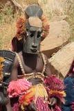 Het masker van Dogon stock afbeeldingen