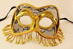 Het Masker van Gras van Mardi Stock Afbeelding