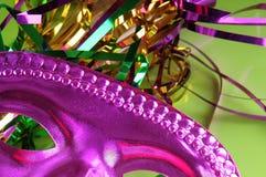 Het Masker van Gras van Mardi Stock Fotografie