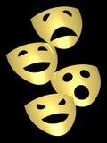 Het masker van het theater Royalty-vrije Stock Fotografie
