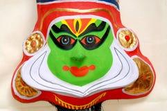 Het masker van Kathakali Stock Fotografie