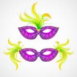 Het masker van Mardi Gras Carnaval Vector illustratie vector illustratie