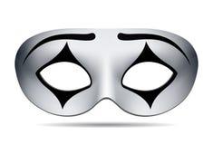 Het masker van pierrotcarnaval royalty-vrije illustratie