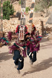Het masker van Sirige en de Dogon dans, Mali. Royalty-vrije Stock Foto's