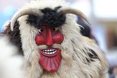Het masker van Smiley busó Royalty-vrije Stock Afbeeldingen