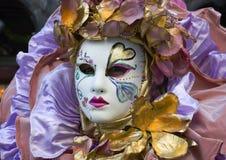 Het masker van Venetië Stock Afbeeldingen