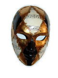 Het masker van Venetië Royalty-vrije Stock Foto