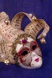 Het masker van Venetië Carnaval Stock Afbeeldingen