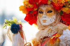 Het Masker van Venetië, Carnaval. Stock Foto