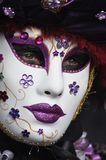 Het masker van Venetië Carnaval Stock Foto's