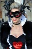 Het masker van Venetië Carnaval Royalty-vrije Stock Afbeeldingen