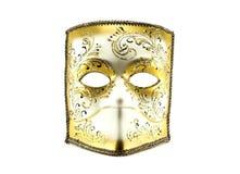 Het masker van Venetië op wit Royalty-vrije Stock Afbeeldingen