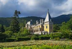 Het Massandra-Paleis in Yalta de Krim Stock Foto's