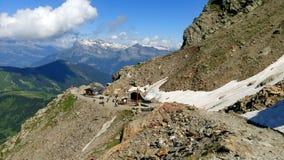 Het massief van Mont Blanc royalty-vrije stock afbeelding