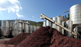 Het materiële staal van het staal industry Stock Afbeelding