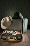 Het materiaal van de avonturenreis Royalty-vrije Stock Foto's