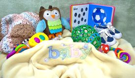 Het Materiaal van de baby Stock Afbeeldingen