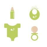 Het materiaal van de baby Stock Afbeelding