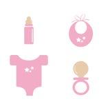Het materiaal van de baby Royalty-vrije Stock Afbeelding