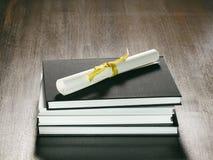 Het Materiaal van de Cursus van het diploma stock foto's