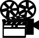 Het materiaal van de film Stock Foto