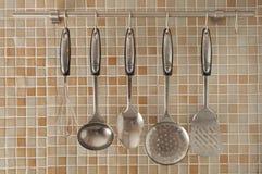 Het Materiaal van de keuken stock afbeelding