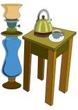 Het materiaal van de keuken stock illustratie