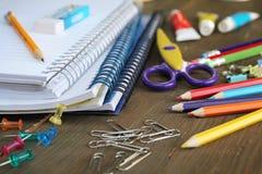 Het materiaal van de school Royalty-vrije Stock Fotografie