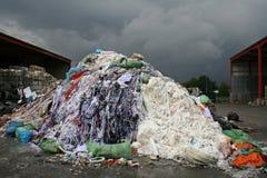 Het materiaal van het afval Stock Foto's