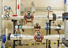 Het materiaal van het boiler-huis, Stock Foto's