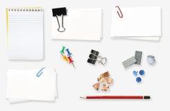 Het Materiaal van het bureau Stock Afbeelding