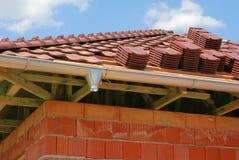 Het materiaal van het dakwerk stock foto