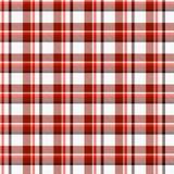 Het materiaal van het geruite Schotse wollen stof vector illustratie