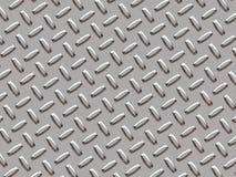 Het materiaal van het metaal - zilver Stock Afbeeldingen