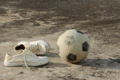 Het materiaal van het straatvoetbal Royalty-vrije Stock Afbeeldingen