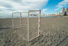 Het materiaal van het strandvoetbal Royalty-vrije Stock Foto