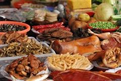 Het materiaal van het voedsel voor het koken Stock Fotografie