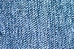 Het materiaal van jeans Stock Afbeeldingen