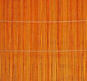 Het matwerk van het bamboe - textuur Stock Foto's