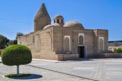 Het mausoleum chashma-Ayub wordt gevestigd in het historische deel van Boukhara royalty-vrije stock fotografie