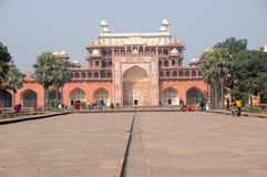 Het mausoleum van Akbars, sikandra Royalty-vrije Stock Foto