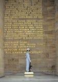 Het mausoleum van Ataturk stock foto
