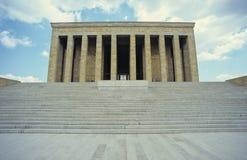 Het Mausoleum van Ataturk stock afbeelding