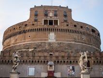 Het mausoleum van Hadrian Stock Fotografie
