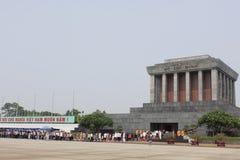 Het Mausoleum van Ho Chi Minh royalty-vrije stock foto