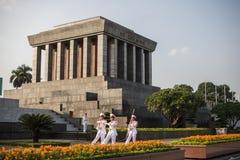 Het Mausoleum van Ho Chi Minh Stock Afbeelding