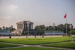 Het Mausoleum van Ho Chi Minh Stock Foto