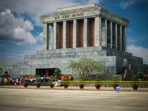 Het Mausoleum van Ho Chi Minh stock afbeeldingen